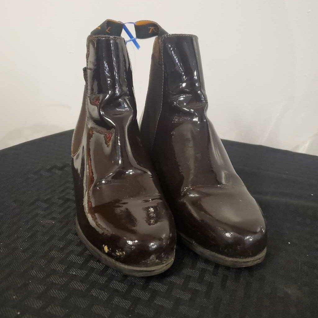 Ovation Brown Patent Size 4
