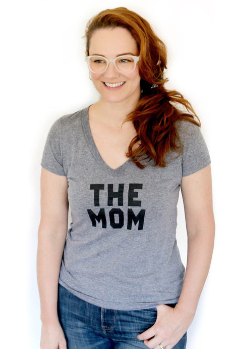 The Mom V-Neck