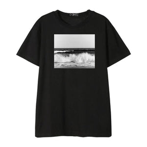 "BTS Jungkook ""Beach Waves"" Tee"