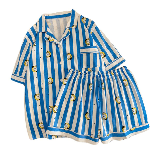 BT21 Summer Two Piece Pajama Set