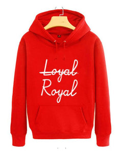"BTS V ""Not Loyal, Royal"" Hoodie"