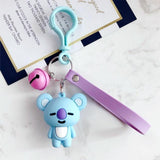 BTS BT21 Characters Keychain
