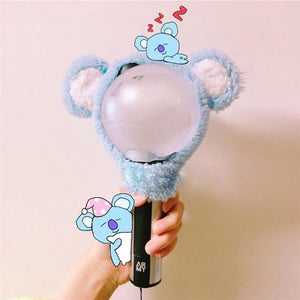 BTS BT21 Plush Light Stick Cover