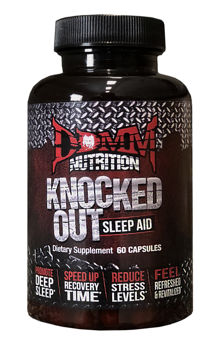 Knocked Out - 100% All-Natural Sleep Supplement