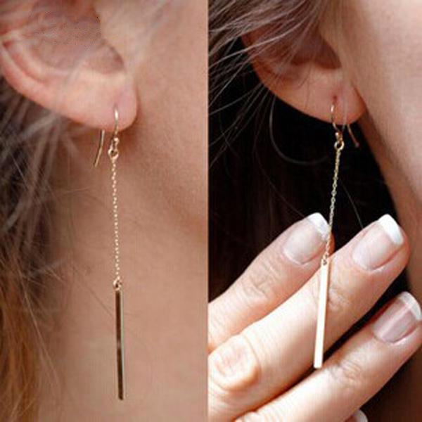 Drop Bar Dangle Earring