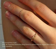 Jayne Moore model makes unique jewelry in her chelsea studio Textured Gold Stackable stacker stacking rings, 18 karat rose gold, solid yellow gold, earthy organic texture, sustainable fashion, beautiful earth, made in NYC, made in the USA
