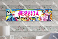 Personalized/Customized Disney Princess #1 Poster, Border Mat and Frame Options Banner 109