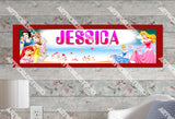 Personalized/Customized Disney Princess #2 Poster, Border Mat and Frame Options Banner 109-2