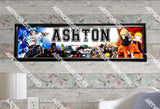 Personalized/Customized Naruto Poster, Border Mat and Frame Options Banner 121