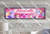 Personalized/Customized Barbie Poster, Border Mat and Frame Options Banner 135