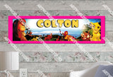 Personalized/Customized The Lion King Poster, Border Mat and Frame Options Banner 142