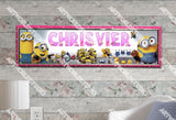 Personalized/Customized Minions Movies #2 Poster, Border Mat and Frame Options Banner 146-2
