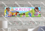 Personalized/Customized Doc McStuffins #1 Poster, Border Mat and Frame Options Banner 162