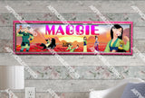 Personalized/Customized Disney Mulan Poster, Border Mat and Frame Options Banner 165
