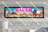 Personalized/Customized Sheriff Callie Poster, Border Mat and Frame Options Banner 167