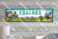 Personalized/Customized Mike the Knight Poster, Border Mat and Frame Options Banner 184