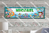 Personalized/Customized The Fairly Odd Parents Poster, Border Mat and Frame Options Banner 189