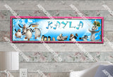 Personalized/Customized The Penguins of Madagascar Movie Poster, Border Mat and Frame Options Banner 193