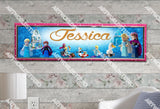 Personalized/Customized Lego Frozen Poster, Border Mat and Frame Options Banner 194