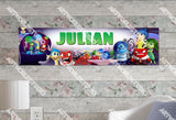 Personalized/Customized Inside Out Movie Poster, Border Mat and Frame Options Banner 198