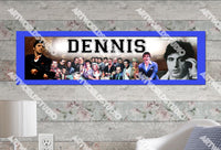Personalized/Customized Al Pacino Poster, Border Mat and Frame Options Banner 206