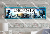 Personalized/Customized Avatars Movie Poster, Border Mat and Frame Options Banner 210