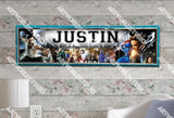 Personalized/Customized X-MEN Poster, Border Mat and Frame Options Banner 215