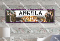 Personalized/Customized Doctor Who Poster, Border Mat and Frame Options Banner 217