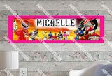 Personalized/Customized Power Rangers #1 Poster, Border Mat and Frame Options Banner 324