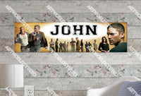 Personalized/Customized Prison Break Poster, Border Mat and Frame Options Banner 327