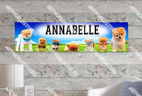 Personalized/Customized Boo the Dog Poster, Border Mat and Frame Options Banner 332