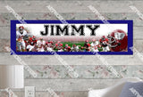 Personalized/Customized Alabama Crimson Tide Poster, Border Mat and Frame Options Banner 401