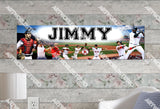 Personalized/Customized Boston Red Sox Poster, Border Mat and Frame Options Banner 421