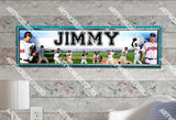 Personalized/Customized Cleveland Indians Poster, Border Mat and Frame Options Banner 424