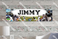 Personalized/Customized Toronto Blue Jays Poster, Border Mat and Frame Options Banner 450