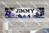Personalized/Customized Toronto Maple Leafs Poster, Border Mat and Frame Options Banner 451