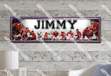 Personalized/Customized Chicago Blackhawks #2 Poster, Border Mat and Frame Options Banner 454-2