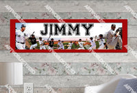 Personalized/Customized Chicago White Sox #2 Poster, Border Mat and Frame Options Banner 455-2