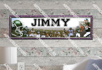 Personalized/Customized Michigan State Spartans Poster, Border Mat and Frame Options Banner 487