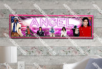 Personalized/Customized Michael Jackson Poster, Border Mat and Frame Options Banner 512
