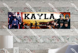 Personalized/Customized The Beatles Poster, Border Mat and Frame Options Banner 518