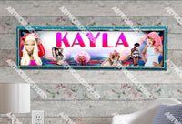 Personalized/Customized Nicki Minaj Poster, Border Mat and Frame Options Banner 523