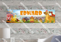 Personalized/Customized The Lion Guard Poster, Border Mat and Frame Options Banner C12