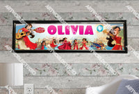 Personalized/Customized Princess Elena of Avalor Poster, Border Mat and Frame Options Banner C21