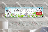 Personalized/Customized 101 Dalmatians Poster, Border Mat and Frame Options Banner C23