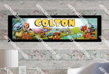 Personalized/Customized Wallykazam Poster, Border Mat and Frame Options Banner C2
