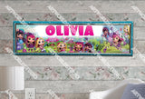 Personalized/Customized Little Charmers Poster, Border Mat and Frame Options Banner C3