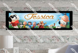 Personalized/Customized The Peanuts Movies Poster, Border Mat and Frame Options Banner C5