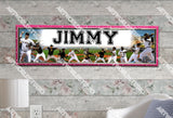 Personalized/Customized Pittsburgh Pirates Poster, Border Mat and Frame Options Banner S1