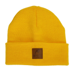 Beanie Lederpatch
